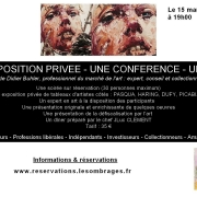 Exposition Conférence sur le Leasing d'oeuvres d'art