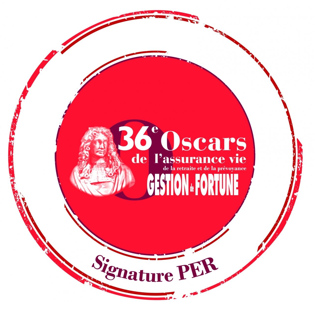 Sans nom 21/04/21 - Signature PER récompensé! MMA Expertise Patrimoine, le réseau Vie dédié aux Conseils en Gestion de Patrimoine (CGP) et aux Courtiers, a reçu le 8 avril dernier un Oscar pour sa solution PER « Signature PER », par Gestion de Fortune, à l'occasion de la 36ème édition des Oscars de l'Assurance vie, de la Retraite et de la Prévoyance