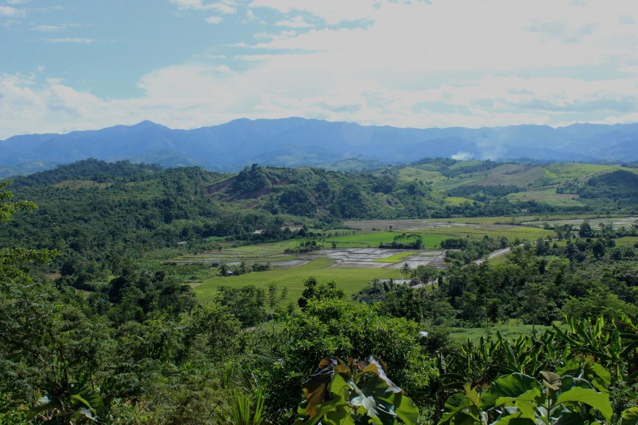 Forestera 10/03/17 - Paysage de San Martin, région où sont réalisés les projets de reforestation