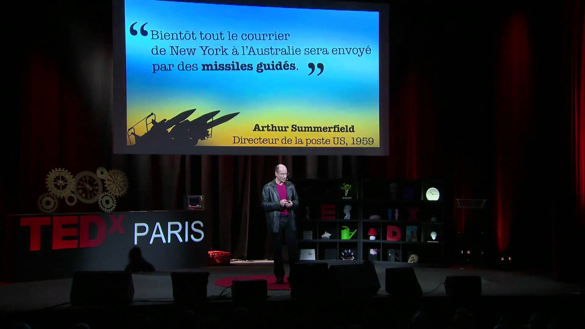 VIDEO TEDxParis 2011 : Bernard Werber - L'arbre des possibles