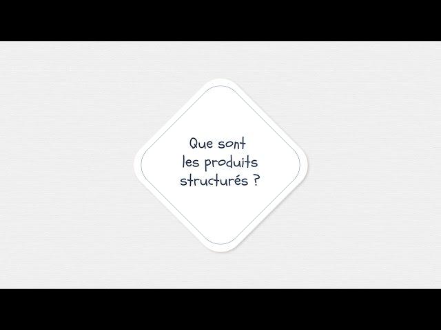 Que sont le produits structurés ?